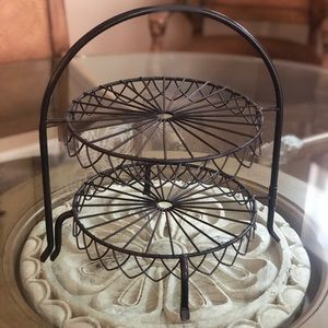 Other - Tiered Metal Display | Decor